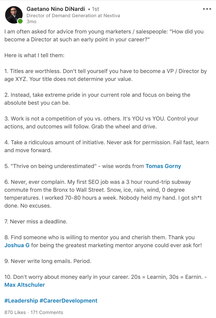 How to hack sales