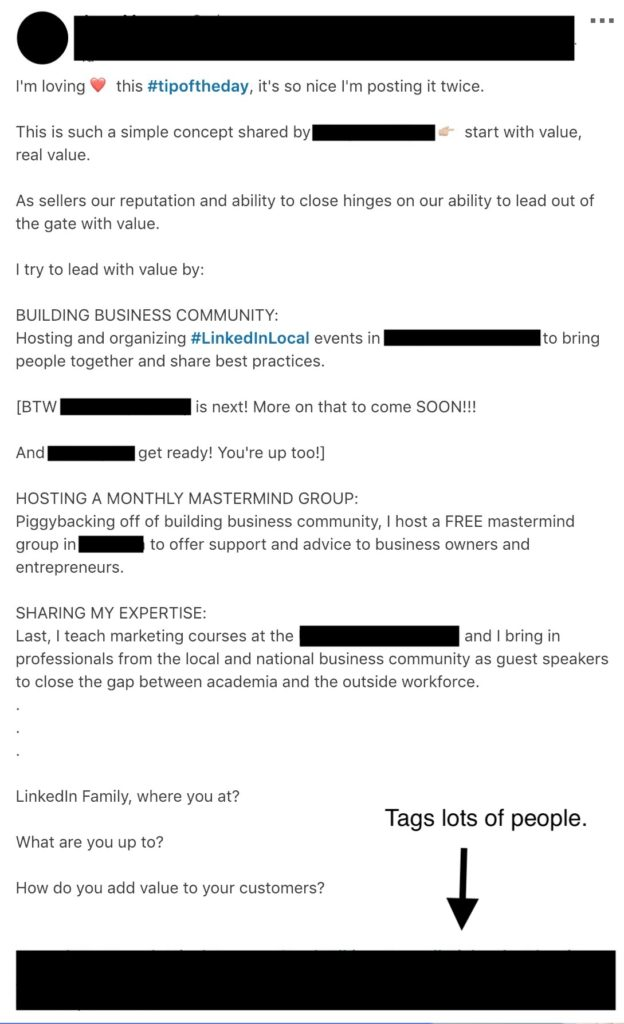 How NOT to hack sales